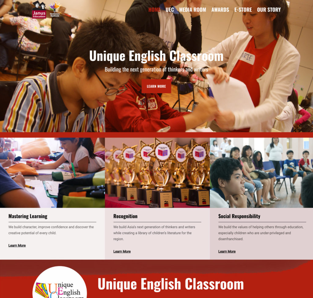 Launch of revamped Janus website