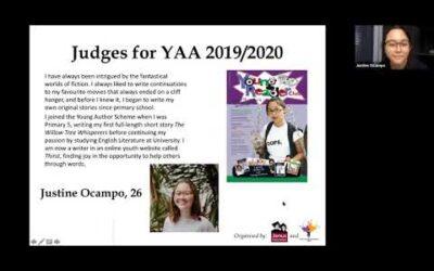 YAS Young Author Awards 19/20 alumni judges sharing