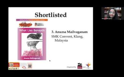 30 Young Author Awards 19/20 finalists reading excerpts of their stories